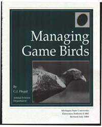 Managing Gamebirds, Document E692Rev2 by Flegal, C. J.