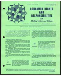 Consumer Rights and Responsibilities, Do... by Kahabka, Bernetta