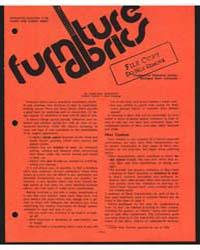 Furniture Fabrics, Document E704Print2 by Margaret Boschetti
