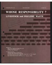 Whose Reponsibility? Livestock and Poult... by Michigan State University