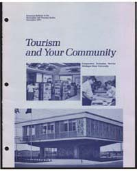 Tourism, Document E729 by Michigan State University