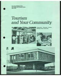 Tourism, Document E729Rev2 by Michigan State University