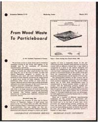 From Wood Waste to Particleboard, Docume... by Otto Suchsland