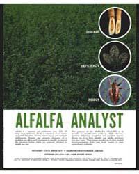 Alfalfa Analyst, Document E744 by Michigan State University