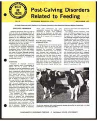 Post-caiving Disorders Related to Feedin... by Donald Hillman
