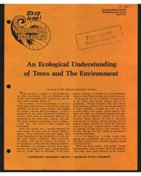 An Ecological Understanding of Trees and... by Lester E. Bell