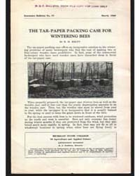 The Tar·paper Packing Case For, Document... by R. H . Kelty