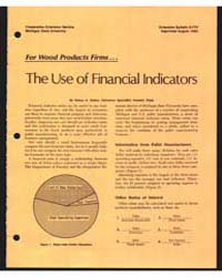 The Use of Financial Indicators, Documen... by Henry A. Huber