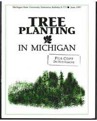 Tree Planting in Michigan, Document E771... by Douglas O. Lantagne