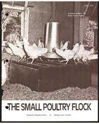 The Small Poultry Flock, Document E773Re... by C. C. Sheppard