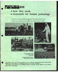Pesticides, Document E789Rev1 by Donald C. Cress