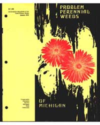 Problem Perennial Weeds of Michigan, Doc... by Robert P. Rice