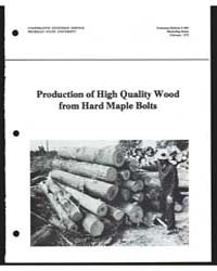 Production of High Quality Wood, Documen... by Henry Huber