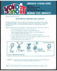 Electrical Repairs You Can Do, Document ... by James S. Boyd