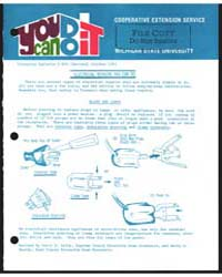 Electrical Repairs You Can Do, Document ... by Carol W. Sel