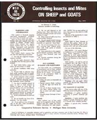 Controlling Insects and Mites on Sheep a... by Michigan State University
