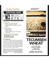 Tecumseh Wheat, Document E858 by Michigan State University