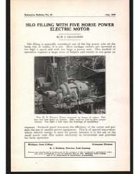 Silo Filling with Five Horse Power, Docu... by H. J. Gallagher