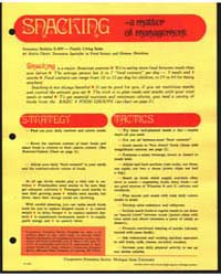Snacking- a Matter of Management, Docume... by Dean, Anita
