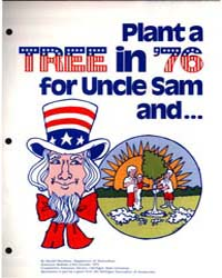 Plant a Tree in '76 for Uncle Sam and., ... by Harold Davidson