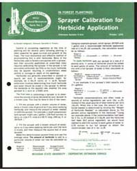 Sprayer Calibration for Herbicide Applic... by Randall Heiligmann