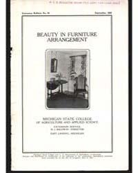 Beauty in Furniture, Document E92 by Baldwin, R. J.