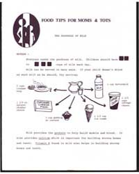 Food Tips for Moms & Tots, Document E928... by Michigan State University