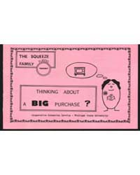 Thinking About a Big Purchase?, Document... by Michigan State University