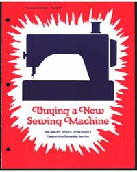 Buying a New Sewing MacHine, Document E9... by Bernetta Kahabka