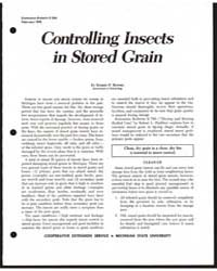 Controlling Nsects in Stored· Grain, Doc... by Ruppel, Robert F.