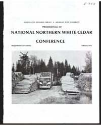 Proceedings of National Northern White C... by Michigan State University