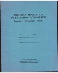 Michigan Association of Extension Homema... by Michigan State University
