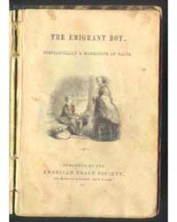 The Emigrant Boy, Document Emig by Michigan State University