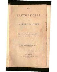 The Factory Girl, Document Factorygirl by Cummings, A.L.