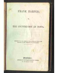 Frank Harper; Or, the Country- Boy in To... by Michigan State University