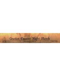 Gratiot County Night Hawk, Volume 1, Doc... by Michigan State University