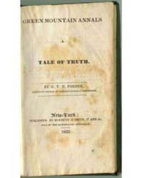 A Tale of Truth, Document Gree by G. V. H. Forbes