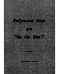 Hollywood Reds Are on the Run, Document ... by Myron C. Fagan