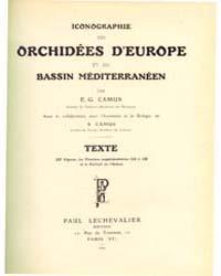 Iconographie Des Orchidees D'Europe Et D... by E. G. Camus