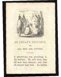 An Indian's Thughts; Or, All Men Are Sin... by Michigan State University