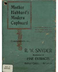 Mother Hubbard's Modern Cupboard, Docume... by R. W. Snyder