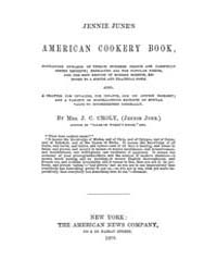 Jennie June's American Cookery Book, Doc... by J. C. Croly