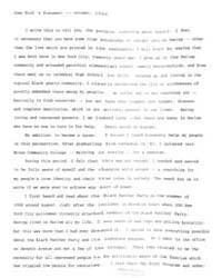 Joan Bird's Statement, Document Joanbird... by Michigan State University