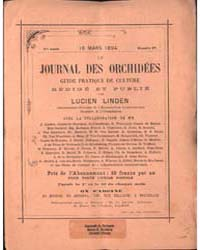 Le Journal Des Orchidees Guide Pratique ... by Lucuen Linden