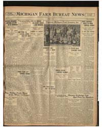 Michigan Farm Bureau News, Volume I, Jun... by Michigan State University
