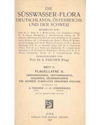 Die Süsswasser-flora Deutschlands, Öster... by Pascher, A.