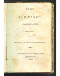 The Life of Africancer, a Namacqua Chief... by Michigan State University
