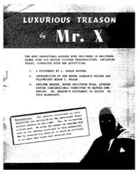 Luxurious Treason, Document Luxurioustre... by Mr. X