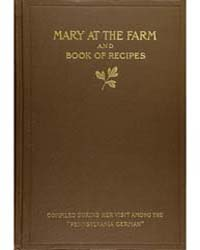 Mary at the Farm and Book of Recipes, Do... by Edith M. Thomas