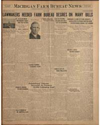Michigan Farm Bureau News, Volume V, May... by Michigan State University